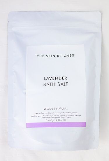 Lavender Bath Salts - The Skin Kitchen