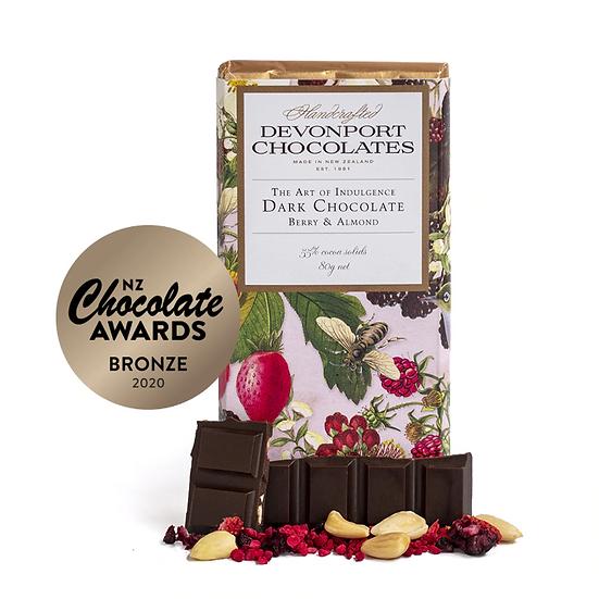 Berry & Almond Chocolate Bar - Devonport Chocolates