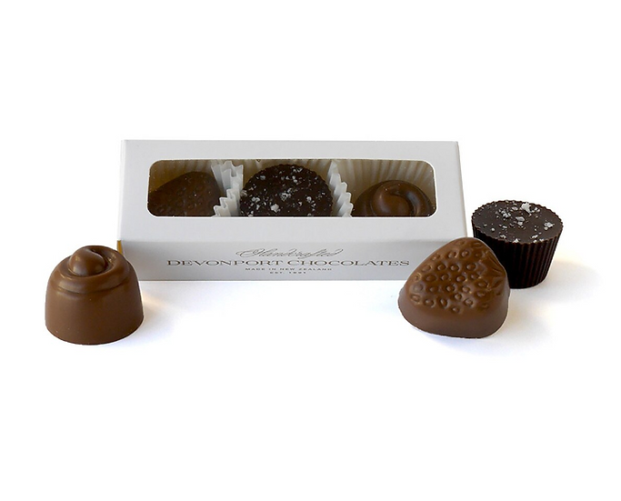 Trio of Chocolates- Devonport Chocolates