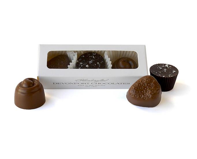 Trio of Chocolates- Devonport Chocolates