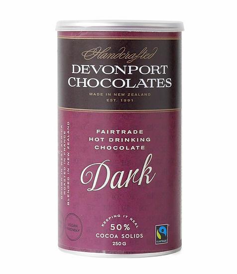 Dark Drinking Chocolate - Devonport Chocolates