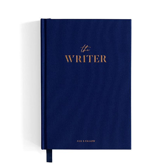 Navy Blue Journal Front View