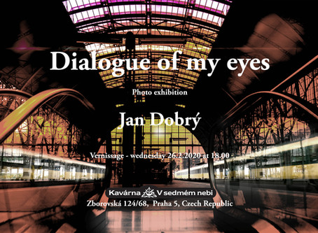 """Vernissage of my photo exhibition """"Dialog of my eyes"""""""