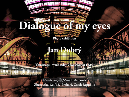 "Vernissage of my photo exhibition ""Dialog of my eyes"""