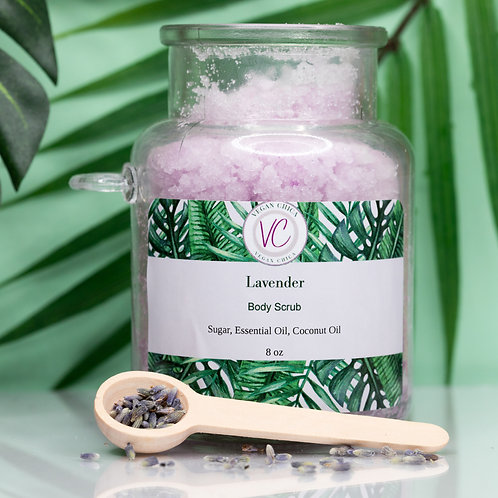 Lavender Sugar Body Scrub