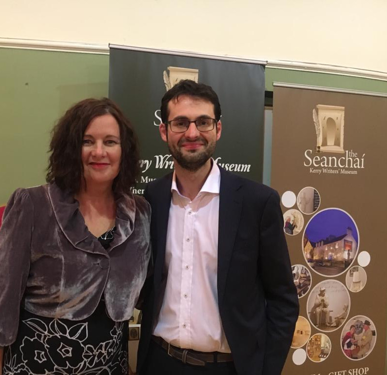 Jeremy Murphy, writer, editor and literary agent with Jillian Godsil, writer, broadcaster and journalist.