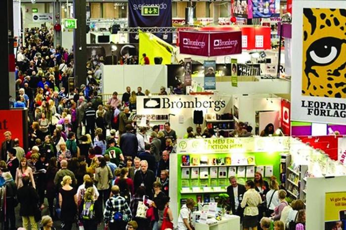 Frankfurt Book Fair, the biggest book fair in the world.