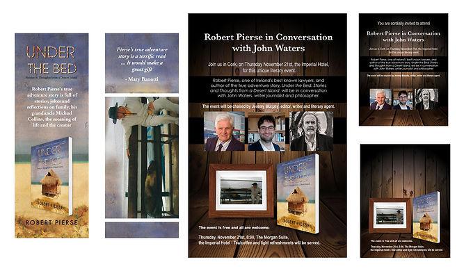 Robert Pierse John Waters in Conversatio