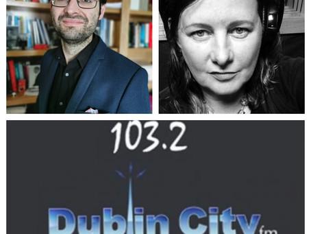 Jeremy in Conversation with Jillian Godsil for Dublin City FM