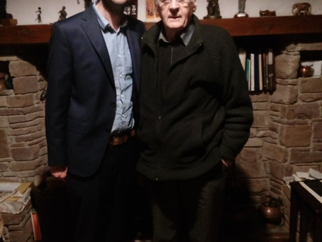 Fascinating Theological Discussions with Fr Pat Ahern