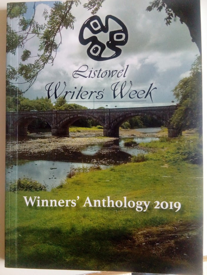 Front cover of Winners' Anthology 2019. The range of material posed challenges for me as an editor, and also for writing the book blurb. I think we did a good job but, as always, that is for the reader to decide.