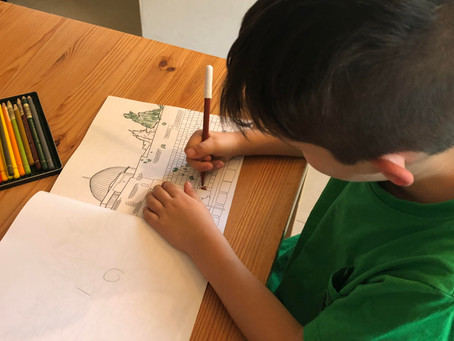 The Benefits Of Colouring With Your Children
