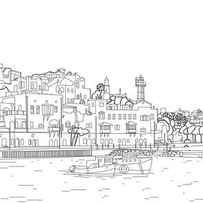 Fantastic Jaffa port