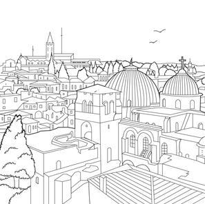 Fantastic Jerusalem rooftops