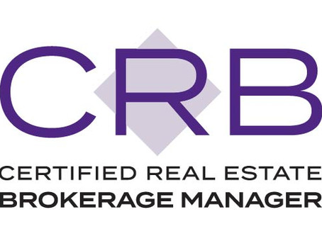 Shaila Campbell Awarded the Certified Residential Brokerage Manager (CRB) Designation
