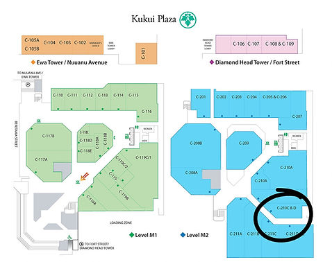 Kukui Plaza Commercial Complex Location