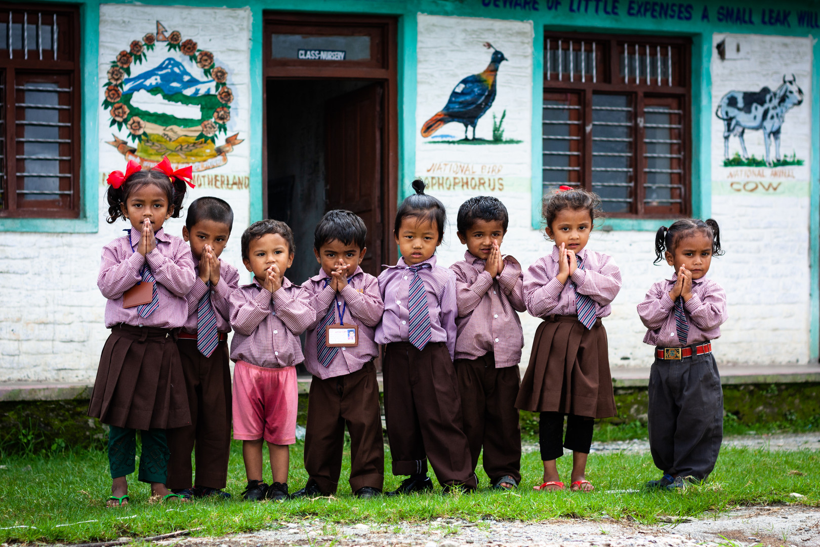 Kids from school