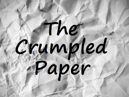 The Crumpled Paper - A short story