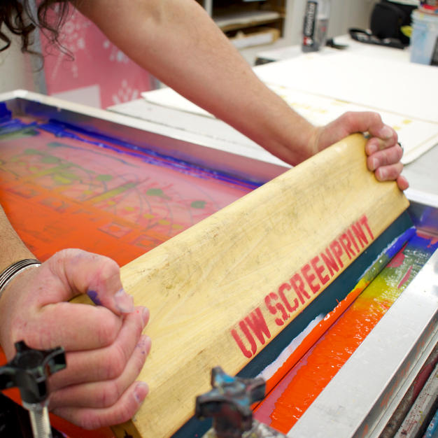 Rainbow Run Screenprinting