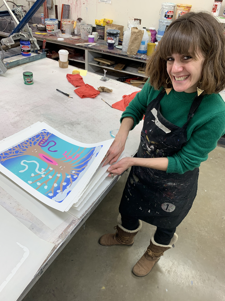 Visiting Artist Julia Curran