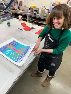 Visiting Artist Julia Curran