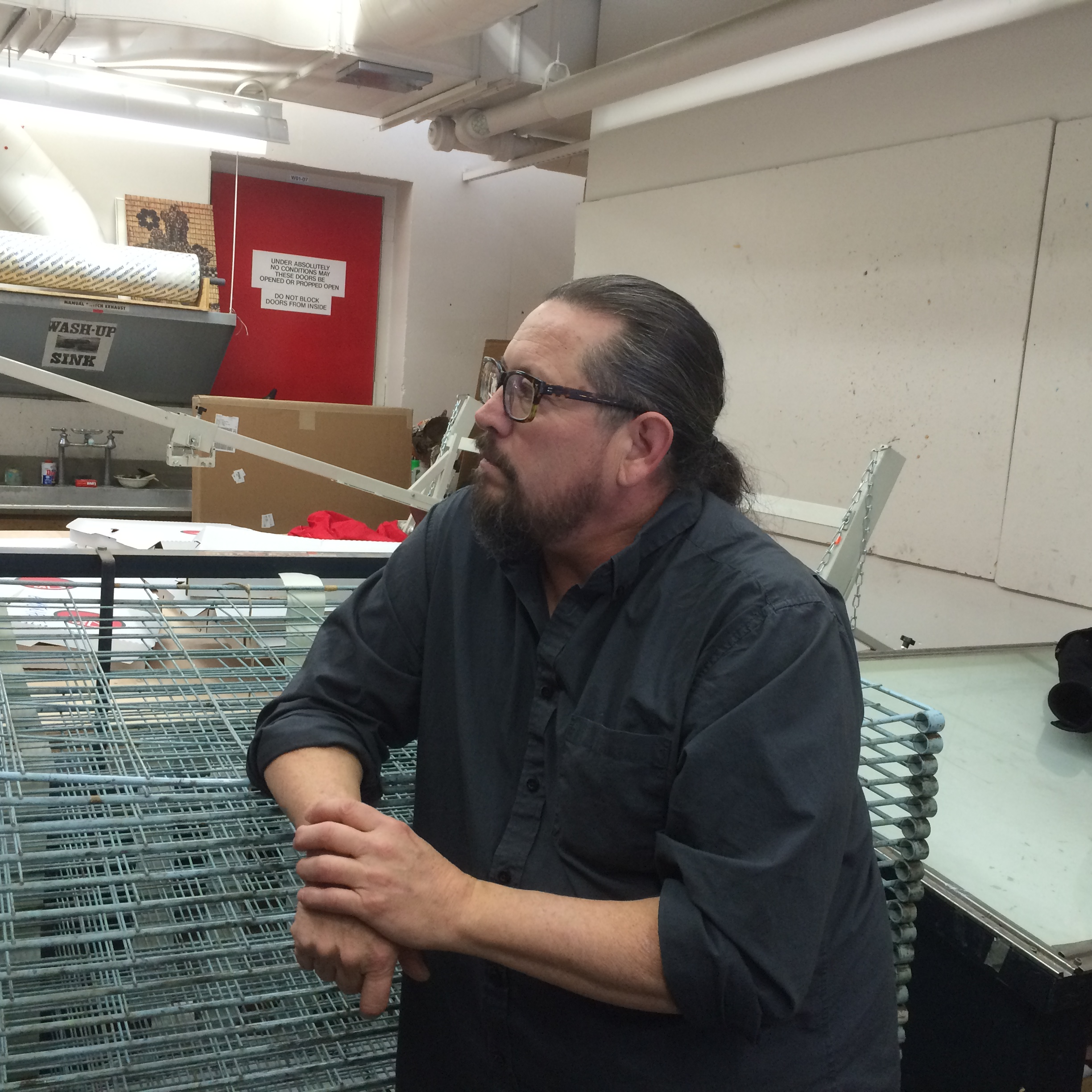 Visiting Artist and Alumni Bently Spang