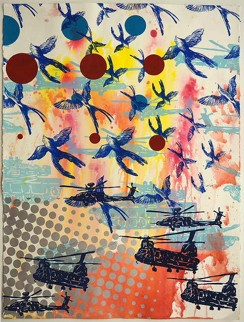 Beads, Birds and Bombs 3 (From the Sky)