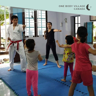 My Experience Teaching a Self Defense Training Program to the One Body Village Girls in Vietnam