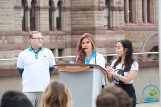 Toronto's Human Trafficking Awareness Day at City Hall