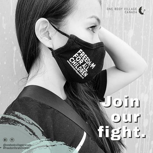 Freedom for all Children Face Masks