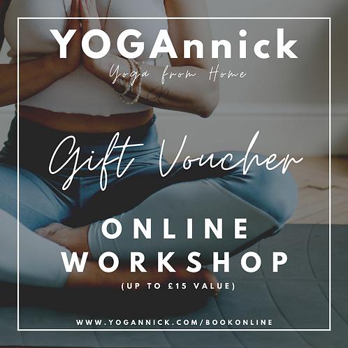 YOGAnnick Workshop