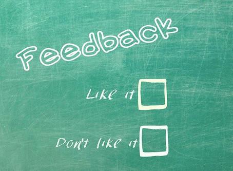 Feedback Fragebogen