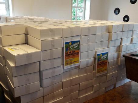 Boxen für die zweite Woche sind gepackt