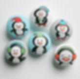 Penguin Drawer Pulls / Penguin Dresser Knobs