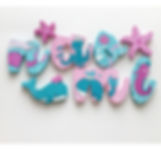Under the Sea Wooden Wall Name Letters / Hangings for Girls Rooms, Play Rooms or Nursery RoomsPink and Brown Bubble Wooden Wall Name Letters / Hangings for Girls Rooms, Play Rooms or Nurseries
