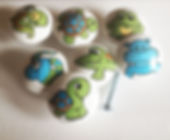 Greens and Blues Drawer Pulls / Dresser Knobs