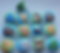 Blue and Green Background / Animal Draw Pulls / Animal Dresser Knobs