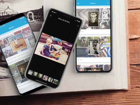 Alpha Testing Albums on the Emortal app