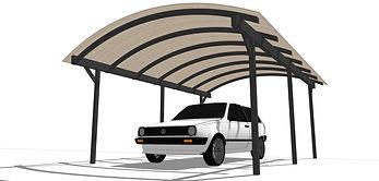 Навесы для авто, автонавес, навесы из поликарбоната
