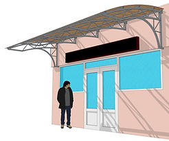 Навес крылечный. tent, canopy, shelter canopies, навес, awning, polycarbonate, поликарбонат, козырёк