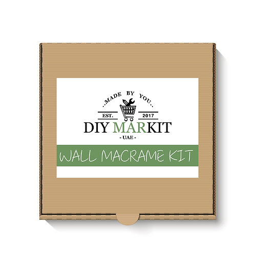 DIY MARKIT Wall Hanging Macrame Making Kit Box