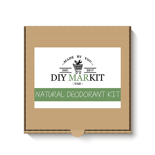 DIY MARKIT Natural deodorant kit box