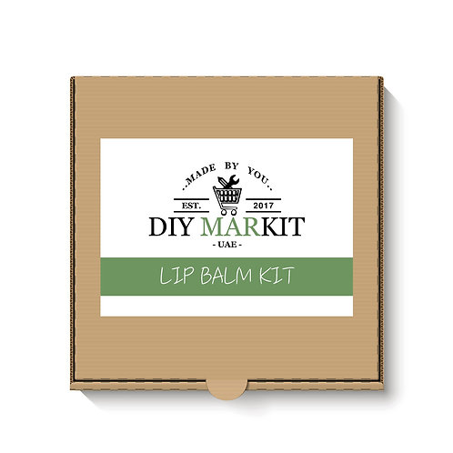 Natural Lip Balm Making Kit Box