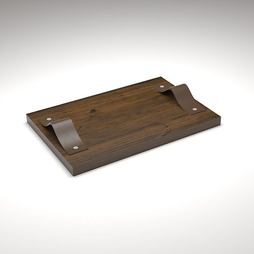Handcrafted Small Wooden Tray - JANAPINE Collection