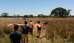 Carayá - Camino a la Laguna