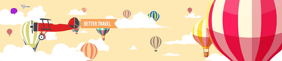 Motion Graphic animation for WIT with hot air baloons