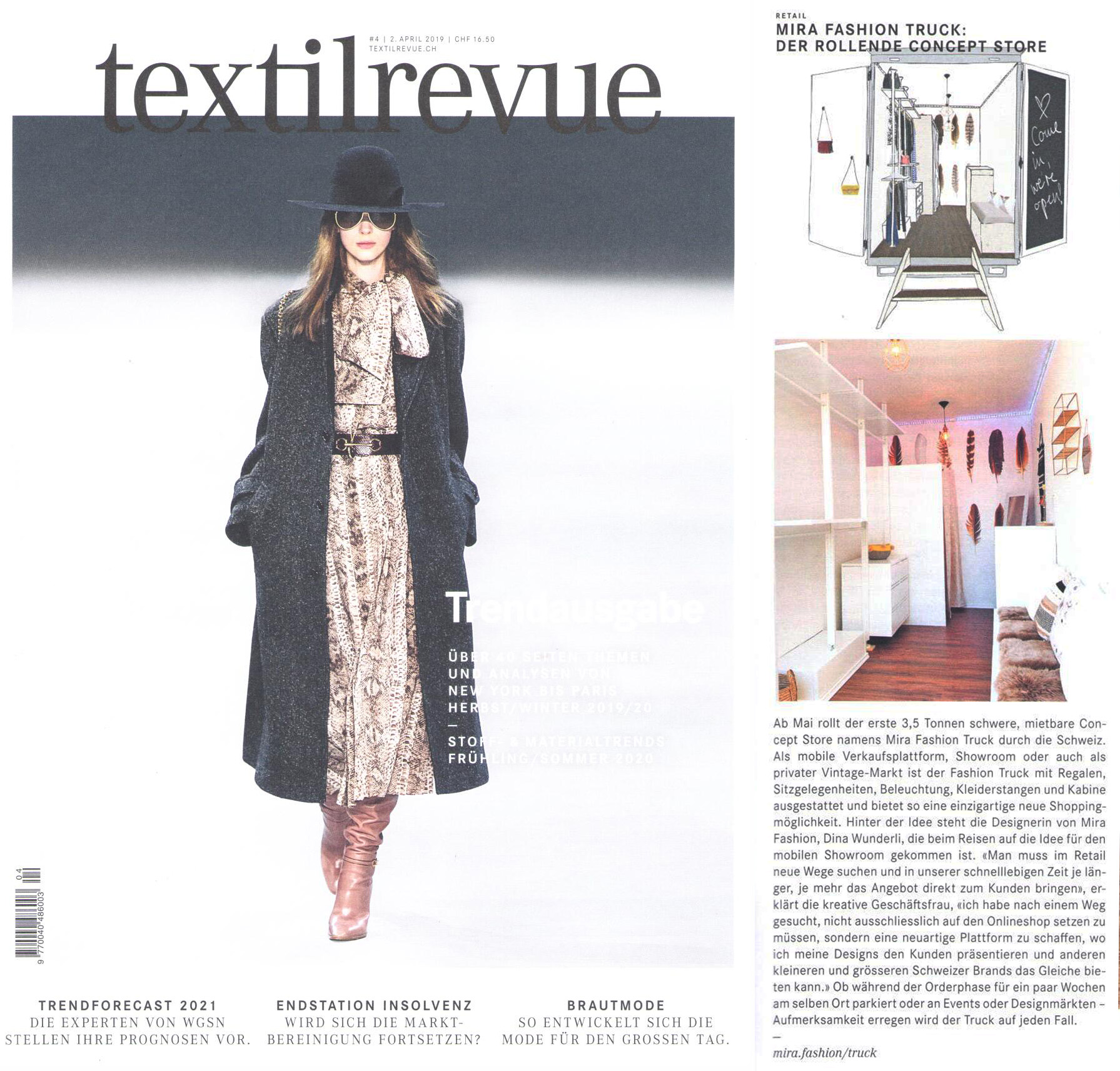 Clipping Textilrevue_Mira Fashion Truck.