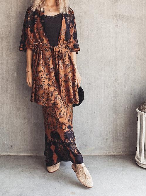 Mes Demoiselles Boho Silk Kimono