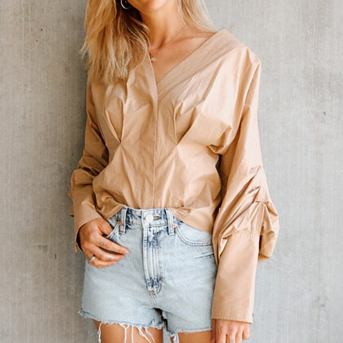 SECOND FEMALE Beige Blouse