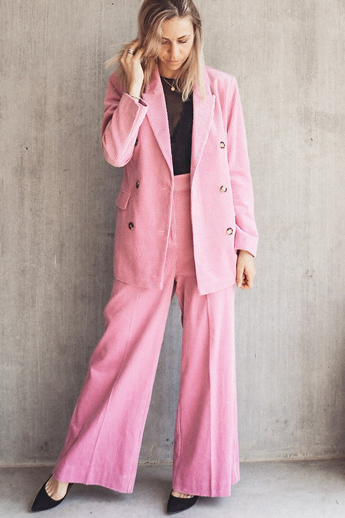SECOND FEMALE Pink Cord Trousers